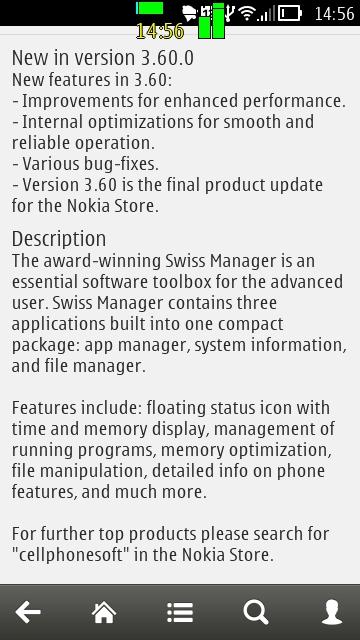 Screenshot, update